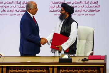 Afghanistan: Washington veut sauver la paix, mais est déterminé à partir)