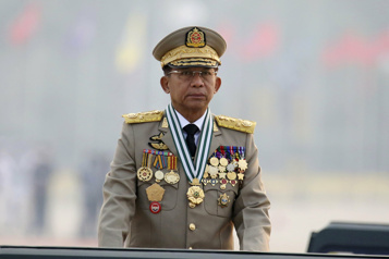 Le chef de la junte birmane écarté du sommet de l'ASEAN