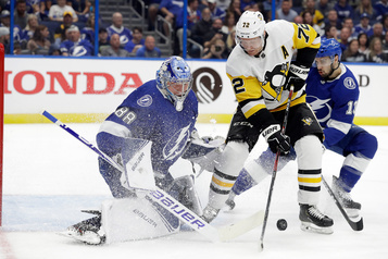 Les Penguins subissent un 3e revers de suite