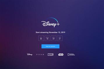 Disney Plus sera lancé à la mi-novembre au Canada