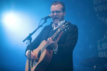 Luc de Larochellière au Festival international de la chanson de Granby)
