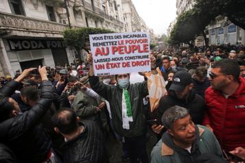 Algérie Réveil du mouvement Hirak pour son deuxième anniversaire)