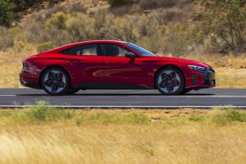 Banc d'essai  Audi RS e-tron GT: faire la différence)