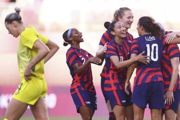 Soccer féminin Les Américaines se consolent avec la médaille de bronze)