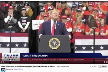 Donald Trump débarque sur la plateforme de vidéos en direct Twitch
