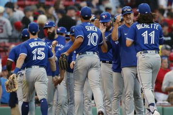 Victoire des BlueJays7-2 contre les Red Sox)