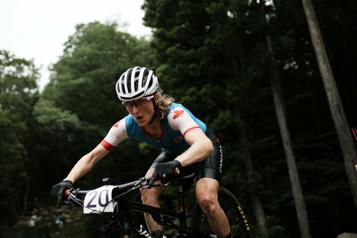 Vélo de montagne Catharine Pendrel termine 18e à ses derniers Jeux)
