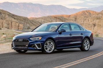 Audi Une A4 électrique àl'horizon)