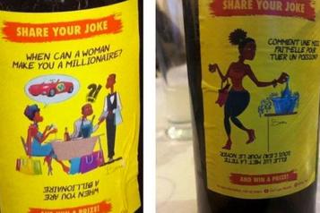Skol critiqué pour les blagues sexistes de ses étiquettes de bière