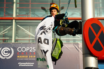 Le Québec se pointe à la COP25 sans bilan