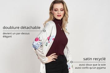 Gaia&Dubos lance un manteau en lainebiologique