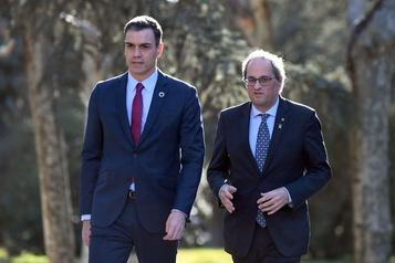 Espagne: le premier ministre tente le dialogue avec les indépendantistes catalans