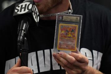 Une carte Pokémon vendue près de 12000 euros en France)
