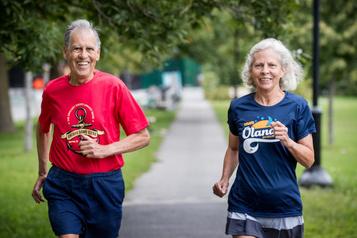 Marathon de Montréal: un couple «ultra»-complice à 75ans