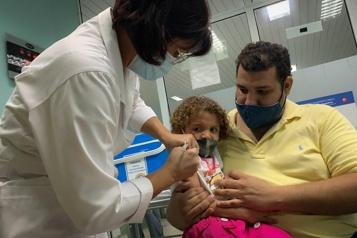 COVID-19 Le gouvernement cubain lance la campagne de vaccination pour les 2 à 18ans)