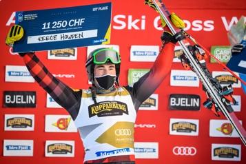 Coupe du monde d'Idre Fjäll Autre médaille d'or de Reece Howden en ski cross)
