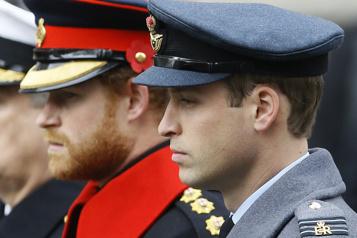Royaume-Uni La famille royale en civil pour l'enterrement du prince Philip)