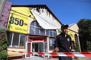 Ukraine: neuf morts dans l'incendie d'un hôtel à Odessa