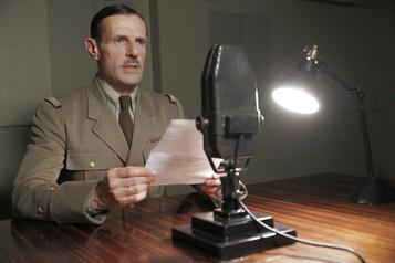 Lambert Wilson dans De Gaulle Seul face au destin )
