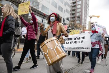 Marche mondiale des femmes  Une journée de revendications à travers le Québec