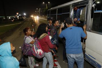 Honduras Des centaines de migrants à la poursuite du «rêve américain»)