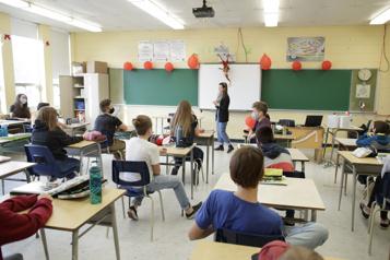 Écoles secondaires Une rentrée… et des millions de «masques bleus»)
