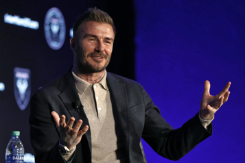 MLS David Beckham n'exclut pas Messi ou Ronaldo pour son Inter Miami)