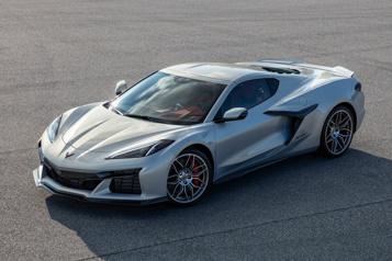Premier coup d'œil surla Chevrolet CorvetteZ06, l'Acura Integra auraun hayon