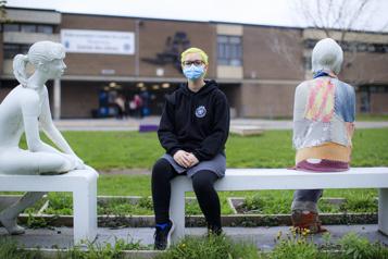 Les adolescents partagés surlavaccination)