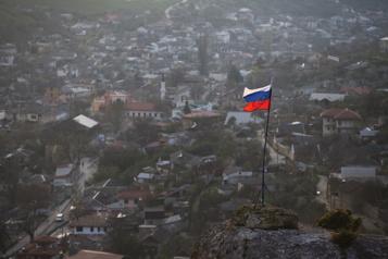 Russie Washington n'acceptera «jamais» l'annexion de la Crimée, affirme Biden)