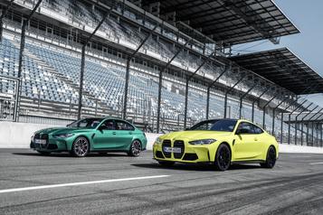 BMW prend un virage technique et stylistique avec ses nouvellesM3 et M4)