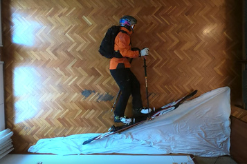 Du ski dans son salon)