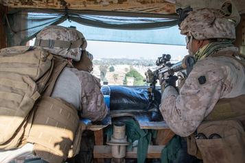 Irak: 2eattaque à la roquette contre des intérêts américains en 24heures )