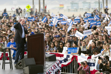 La campagne démocrate s'emballe dans le Nevada, Sanders en favori
