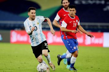 Copa América Match nul entre l'Argentine et le Chili)