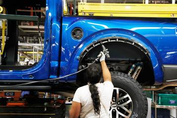 La production automobile nord-américaine à l'arrêt