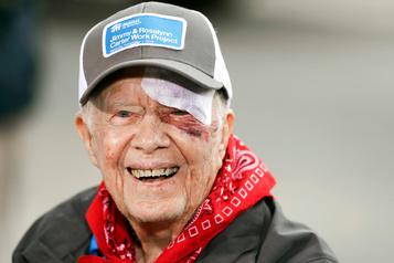 Jimmy Carter hospitalisé de nouveau