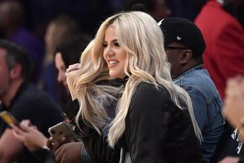 Khloe Kardashian déclarée positive à la COVID-19)