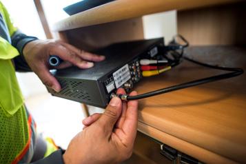 Plaintes L'internet et le sans-fil font pester les consommateurs )