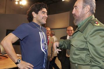 Maradona le «Che» du sport, «fils» de Fidel et «soldat» de Maduro)
