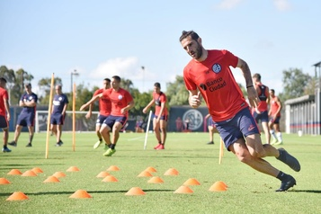 Ignacio Piatti déjà à l'entraînement avec San Lorenzo