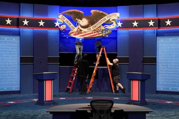 Place au premier débat Trump-Biden)