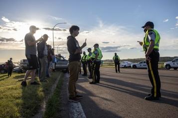 La frontière entre la N.-É. et le N.-B. rouvre après une manifestation)