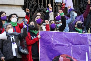 Future Constitution du Chili Les féministes en mission)