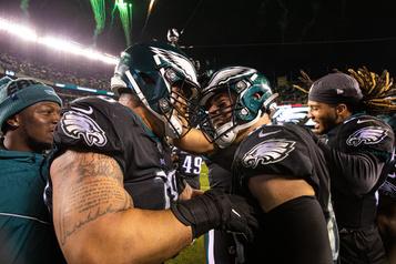 Les Eagles couronnent leur remontée en prolongation