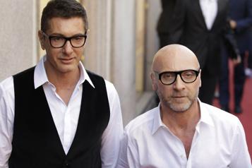 Une collection masculine extravagante chez Dolce&Gabbana)
