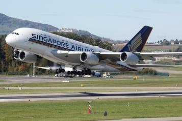 Une «bulle» pour les voyages entre Hong Kong et Singapour)