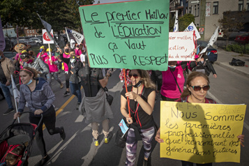Grève dans les CPE L'offre d'augmentation partielle rejetée à 95%