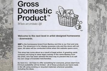 Une boutique Banksy en ligne