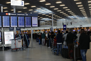L'aéroport d'Orly fermera temporairement le 31mars